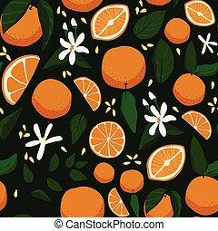 ramage, seamless, arance