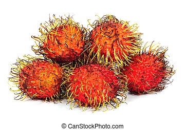 Rambutan, Fruit of Thailand