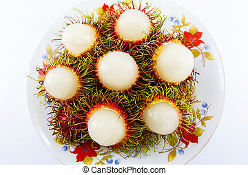 Rambutan fruit of thailand