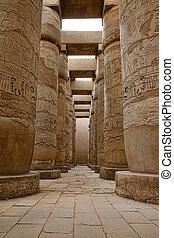 ramesseum, templo, egypt.