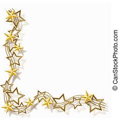 ramme, stjerne