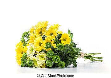 ramo, de, fresco, primavera, flowers.