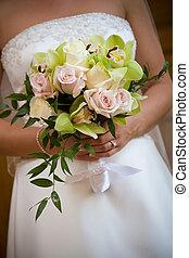 ramo de la boda, floreza arreglo