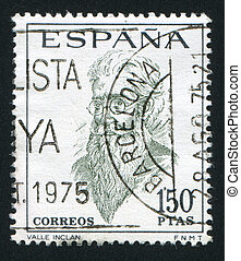 Ramon del Valle Inclan - SPAIN - CIRCA 1966 stamp printed by...