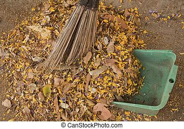 ramoner, déchets