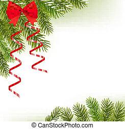 ramos, chapéu, árvore, santa