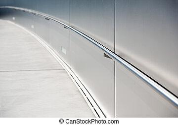 ramp with steel hand rail