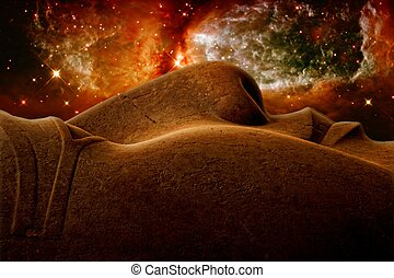 Ramses II and Stellar region S106 (Elements of this image...