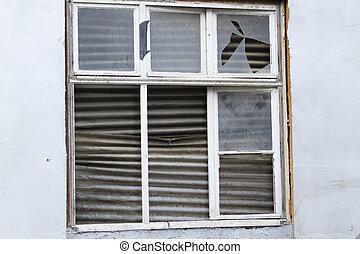 Ramshackle Window - Outdoor shoot from a ramshackle Window
