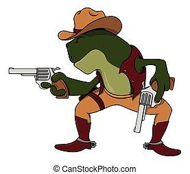 rana, cowboy