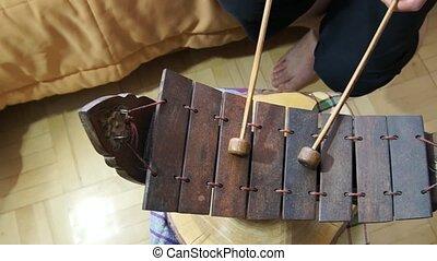 Ranad Ek Ranat Traditional Thai music instrument - Ranad Ek...