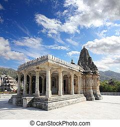 ranakpur, ινδουϊσμός , ινδία , κρόταφος