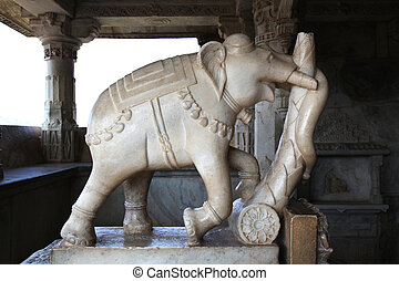 Ranakpur Jain Temple - Ranakpur is known for its marble Jain...