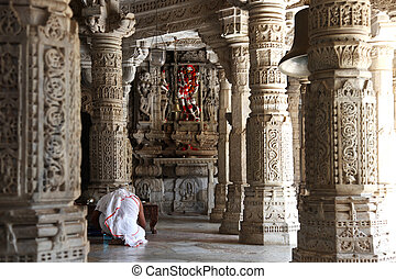 Ranakpur Jain Temple - Ranakpur is known for its marble Jain...