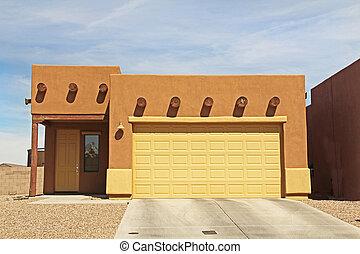 Ranch Stucco Home in Tucson, Arizona