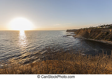 Rancho Palos Verdes Pacific Sunset