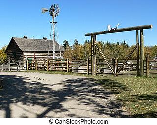 rancho, yarda
