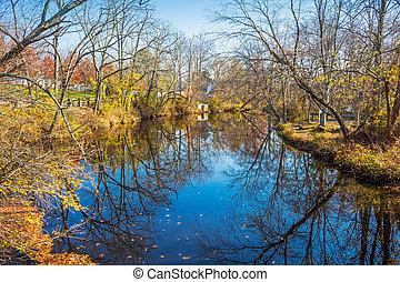 Rancocas Creek Reflections