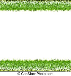 randjes, gras, groen wit, achtergrond