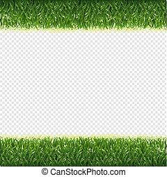 randjes, gras, groene, transparant, achtergrond