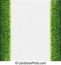 randjes, gras, transparant, achtergrond