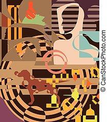 Random Abstract
