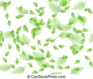 Random leaf pattern - Interesting random leaf pattern in...