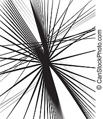 Random lines abstract background. Modern, minimal art like...