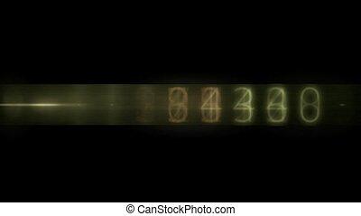 Random number change,seamless loop,1080i,HD