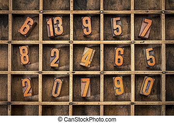 random number in typesetter box