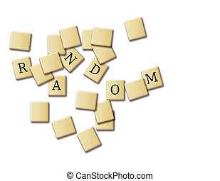 Random puzzle isolated in white background high resolution