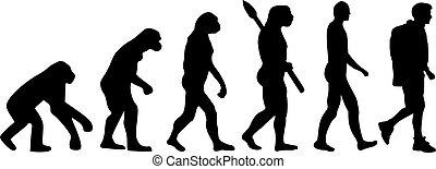 randonnée, évolution