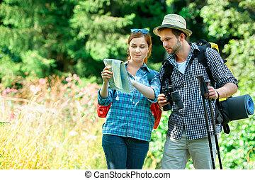 randonnée couple