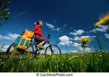 randonneur, vélo