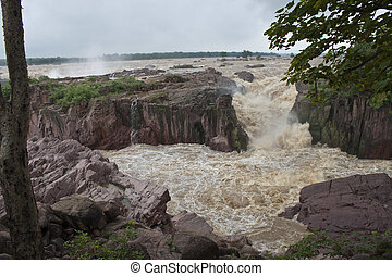 raneh, período, india, bajas, monzón, durante