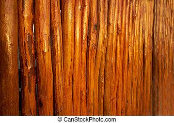 rang, bâtons bois, texture, mexique