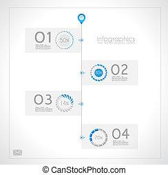 rang, produkt, infographic, design