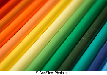 Range of coloring pencils