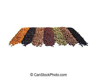 range of spices