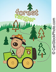 ranger., foresta