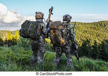 rangers, montanhas