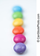 Rank of candies multi coloured