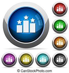 Ranking button set