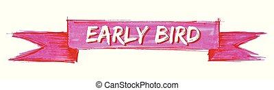 ranní ptáče, lem