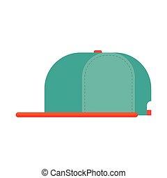 Rap cap bill baseball