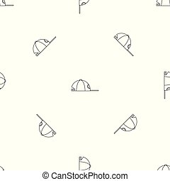 Rap cap pattern seamless vector