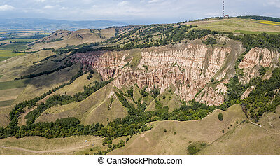 Rapa Rosie - a geological and botanical reserve in Romania...