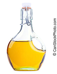 Rapeseed oil - Extra virgin rapeseed oil in a bottle...