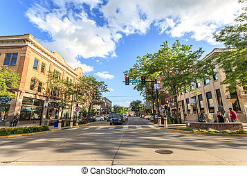 Rapid City in South Dakota, USA - Rapid City in South...