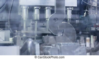 rapid work of steel machine tool